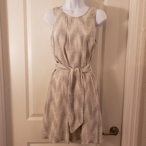 Gap Waist Tie Dress